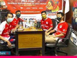 Poso Gelar Eksebisi Esport Pra PON XX Papua 2021