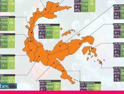 Kasus Covid-19 Menurun, Seluruh Daerah di Sulawesi Tengah Kini Masuk Zona Oranye