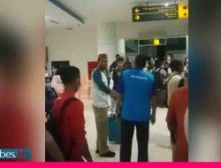 Viral di Medsos, Anggota DPRD Boalemo Ngamuk di Bandara, Provokasi Penumpang Tolak Swab Antigen