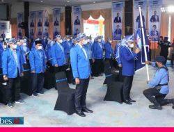 AHY Resmi Lantik Anwar Hafid Sebagai Ketua DPD Demokrat Sulteng