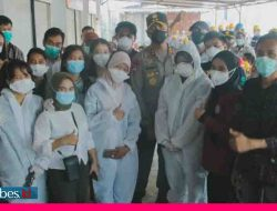 Vaksinasi Covid-19 di IMIP Capai 39 Ribu Orang, Kapolda Sulteng: Ini Pencapaian yang Luar Biasa