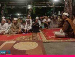 Majelis Zikir dan Shalawat Bahtera Rasullulah Raudatul Khairaat Ampana Peringati Maulid di Pondok Kalero
