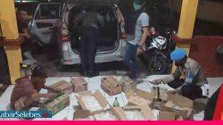 Razia Polres Morowali dan Polsek Jajaran, 605 Kantong Cap Tikus Diamankan