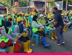 320 Pekerja Padat Karya Ikuti Program Asuransi Tenaga Kerja