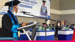 Rektor Unismuh Palu Sah Menyandang Guru Besar Ilmu Manajemen