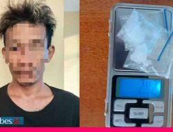 Jadi Kurir Sabu, Pria asal Palu Ini Diamankan Sat Narkoba Polres Sigi