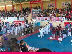 Kejuaraan Open Turnamen Taekwondo Tingkat Nasional di Palu, Atlet Morowali Rebut 12 Medali